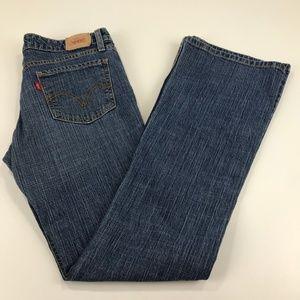 Levi's Super Low Boot Cut 518 Jeans - Size 9 Long